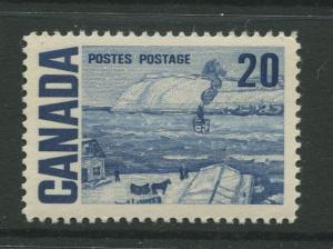 Canada  #464  MNH  1967 Single 20c Stamp
