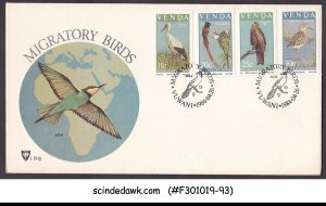VENDA SOUTH AFRICA - 1984 MIGRATORY BIRDS - FDC