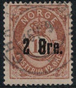 Norway #46a  CV $5.50