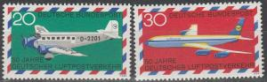 Germany #993-4 MNH F-VF (SU4936)