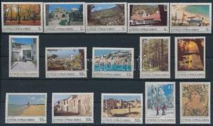 Cyprus stamp Definitive set (Turism) MNH 1985 Mi 626-640 WS193615