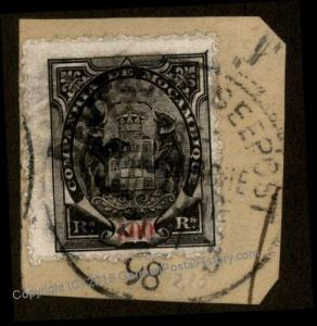Mozambique 1898 Germany Deutsche Ostafrikanische b DOA Seepost Cancel 78233