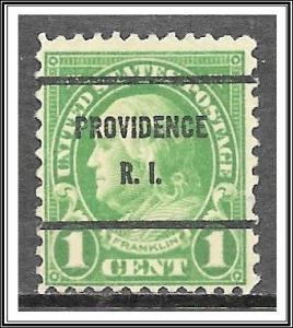 US Precancel #632-61 Providence RI Used