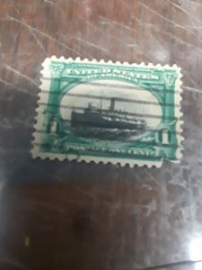 1901 Pan American Low Ship