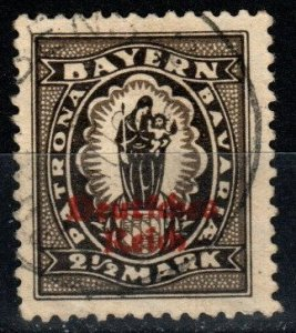 Bavaria #270 F-VF Used  CV $2.75  (X1247)