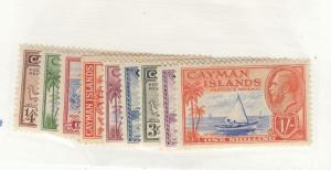 CAYMAN ISLANDS KK675  # 85-93 VF-MVLH KGV ISSUES CAT VALUE $37++