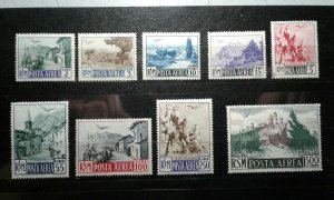 San Marino #C63-71 MNH(some low values are hinged) e206 9666