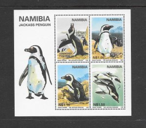 PENGUINS - NAMIBIA #824a  JACKASS PENGUINS   MNH