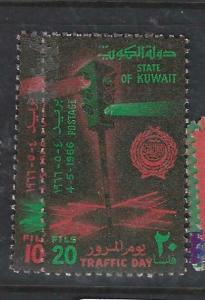 KUWAIT  (PP0206B)  TRAFFIC  DAY  SG 32-1   VFU