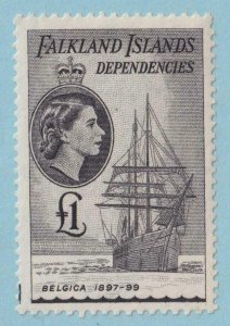 FALKLAND ISLAND DEPENDENCIES IL33 MINT NEVER HINGED OG ** NO FAULTS EXTRA FINE !