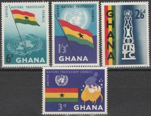 Ghana #67-70  MNH (K1491)