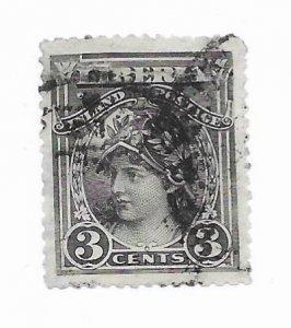 Liberia #94b Used - CAT VALUE $6.00