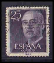 Spain Used Very Fine ZA5921