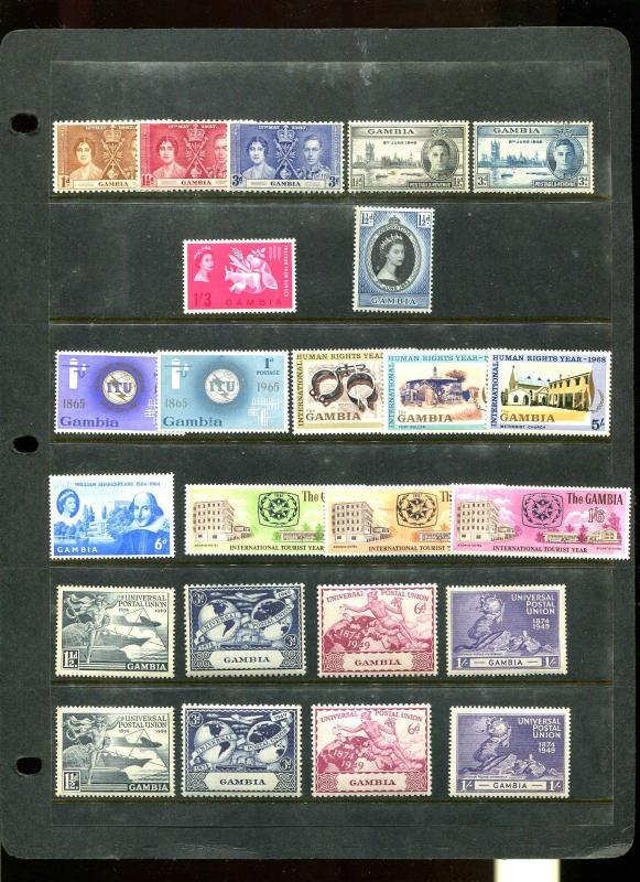 Stamp Collection All Pictured Mostly Mint Never Hinged  - All Very Fine