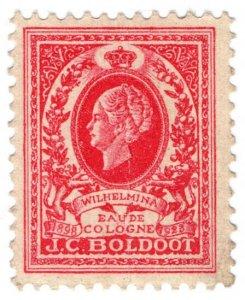 (I.B) Netherlands Cinderella : Perfume Seal (JC Boldoot 1923)