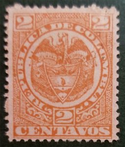 COLOMBIA 1892 Scott 149 Used Stamp T172