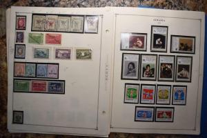 ALBANIA NICE OLD COLLECTION  DR SCHULTZ ESTATE MINT AND USED Z650