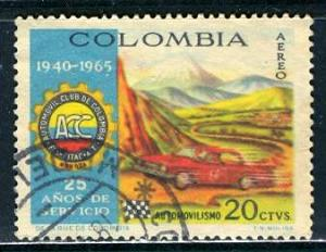Colombia; 1966: Sc. # C480: O/Used Cpl. Set