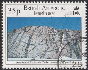 British Antarctic Territory 1995 used Sc #232 35p Arrowsmith Peninsula