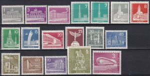Germany #9N120-36 MNH CV $49.50 (Z5285)