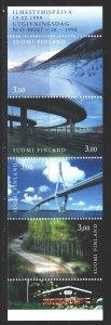 Finland. 1999. MN 53. Bridges, landscapes, tourism. MNH.
