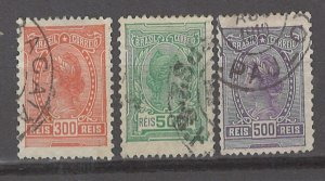 COLLECTION LOT # 3078 BRAZIL #203+212-3 1918 CV+$18