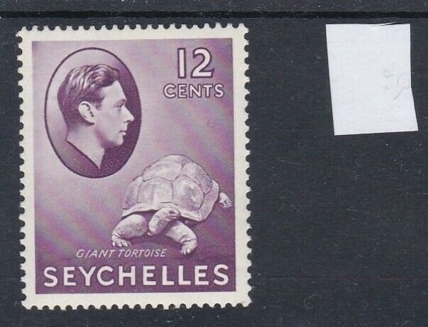 Seychelles 1938 Definitive 12c MH CV £50.00 (2 scans)
