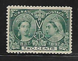 CANADA 52 MINT HINGED JUBILEE ISSUE 1897