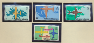Falkland Islands Stamps Scott #287 To 290, Mint Never Hinged - Free U.S. Ship...