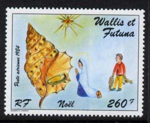 Wallis & Futuna C139 MNH Christmas, Shell