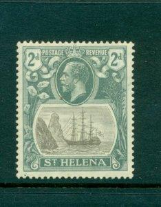 St. Helena - Sc# 82. 1922 GeoV 2p Mint. $4.50.