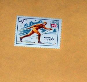 Russia - 4411, MNH - Skiing. SCV - $0.25