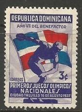 Dominican Republic 327 VFU 1152D-10