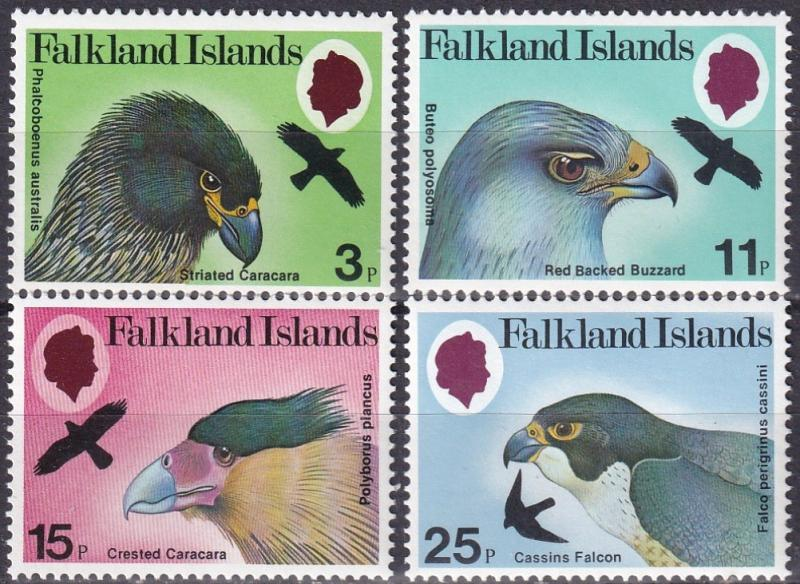 Falkland Islands #306-9 MNH CV $3.20 Z444
