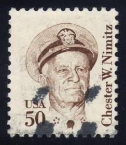 US #1869 Chester W. Nimitz, used (0.25)