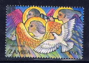 Zambia 588 MNH 1992 Angels Singing