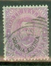 CW: Eritrea 9 used CV $72.50