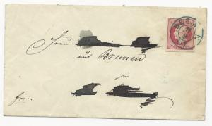 German States Hannover Scott #19a on Cover