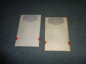 HAROLD COHN STAMP HINGES IN UNOPENED PACKAGES, LOT OF 2