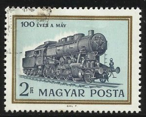 Hungary 1968 Scott# 1912 Used (creased)