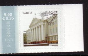 Estonia Sc563 2007 Posthorn Building stamp NH