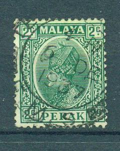 Malaya - Perak sc# 70 used cat value $.25