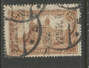 GERMANY 113 VFU R9-196-2