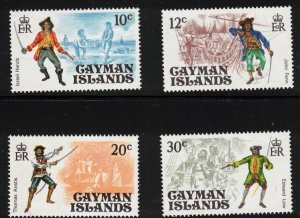 CAYMAN ISLANDS - Pirates Issue 1975