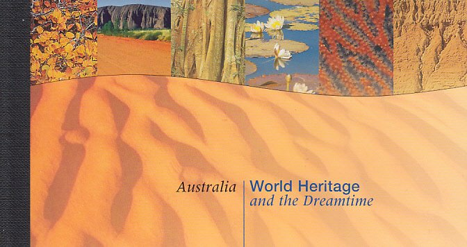 UN New York 1999 MNH Sc #756 Booklet Australia: World Heritage and the Dreamtime