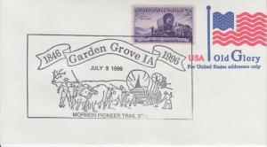 1996 150th Anniversary The Mormon Pioneer Trail Garden Grove Iowa Pictorial