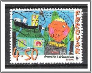 Faroe Islands #380 Children's Stamp Designs Used