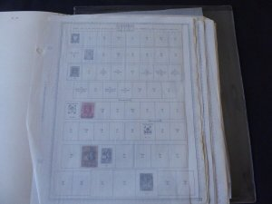Gambia 1869-1985 Stamp Collection on Scott Specialty Stamp Album Pages