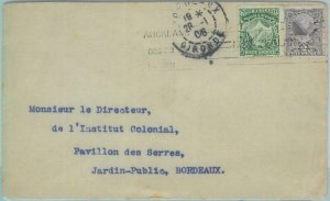 83403 - NEW ZEALAND  - Postal History - COVER to FRANCE  - 1906  Mountaineering