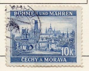 Germany Czechoslovakia 1939-40 Early Issue Fine Used 10K. 116419